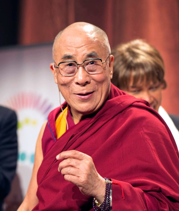"""Dalailama1 20121014 4639"" by *christopher* - Flickr: dalailama1_20121014_4639. Licensed under CC BY 2.0 via Wikimedia Commons - https://commons.wikimedia.org/wiki/File:Dalailama1_20121014_4639.jpg#/media/File:Dalailama1_20121014_4639.jpg"
