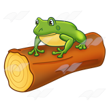 frog-on-a-log-clipart-1